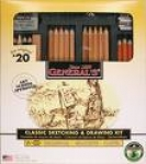 DRAWING & SKETCHING 21PC KIT