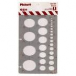 PICKETT ELLIPSE TEMPLATE 1225-55I