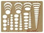 PICKETT ELLIPSE TEMPLATE 4 IN 1 1262I