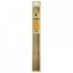 RULER ST STEEL FLEX CORK 18IN