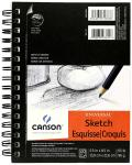 CANSON UNIVERSAL SKETCH BOOK 5.5X8.5