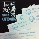 Joe Kubert's World of Cartooning Course Books with Critiques