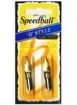 SPEEDBALL NIBS B5 & B6 CARDED