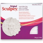 SCULPEY 1.75LB PACK WHITE